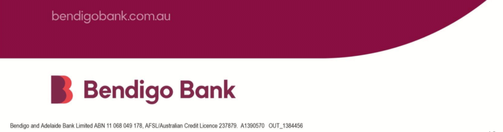 bendigo bank services