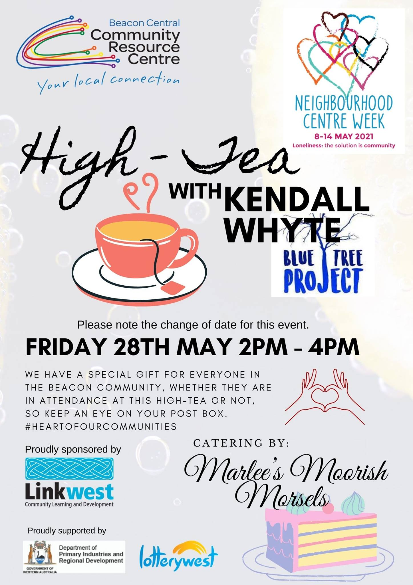 High Tea with Kendall Whyte